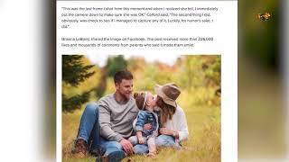 De skulle ta ett fint familjefoto – nu asgarvar tusentals föräldrar åt bilden