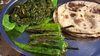 વાડી ની ગુજરાતી થાળી  નિકુંજ વસોયા દ્વારા   Gujarati Thali Recipes Cooking at Farm By Nikunj Vasoya