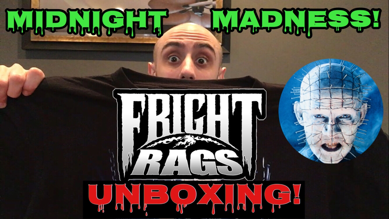 FRIGHT RAGS Unboxing Hellraiser Midnight Madness