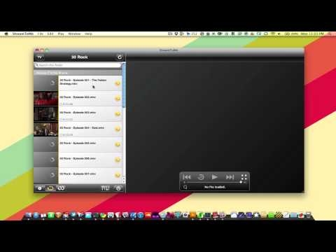Stream to Me for Mac OS X