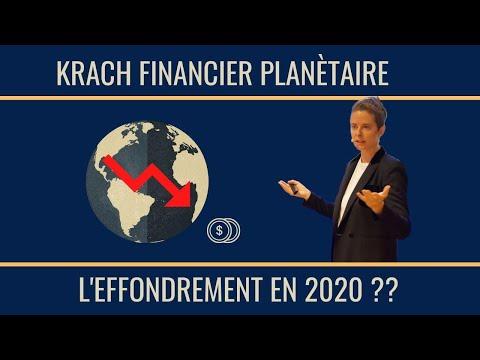 Krach financier planétaire : comment se préparer à l'effondrement de 2020 ?