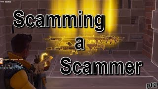 Fortnite save the world 'scamming a scammer' *must watch* part 2 (save the world pve)