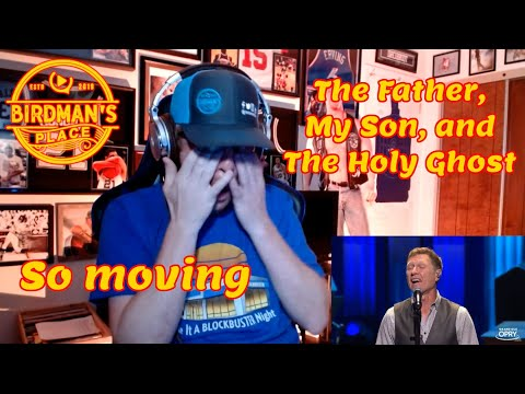 SINGER REACTS TO THE FATHER, MY SON, AND THE HOLY GHOST - CRAIG MORGAN - REACTION VIDEO - I CRIED