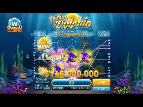 DoubleU Casino - Shining Dolphin Slot - 동영상