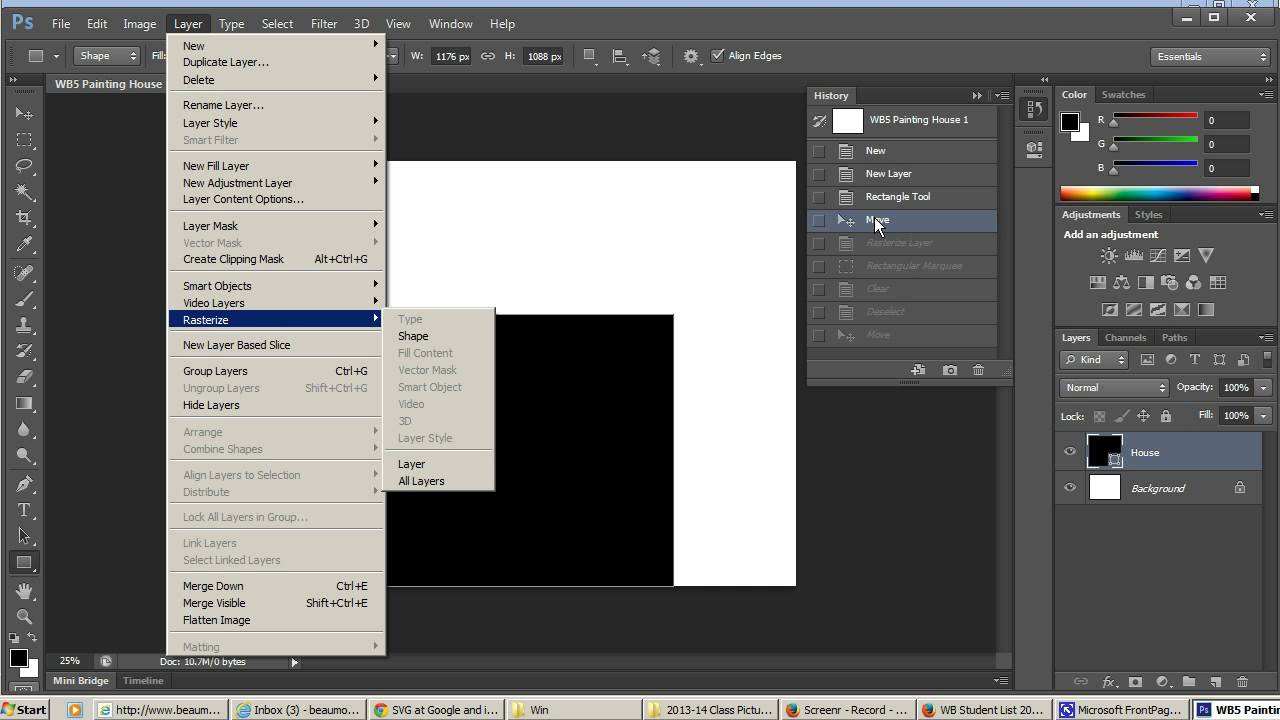 Photoshop Painting Vs Google Docs Scalable Vector Graphics Youtube
