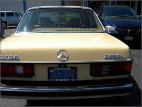 1980 mercedes benz d class torrance ca youtube for Mercedes benz of torrance