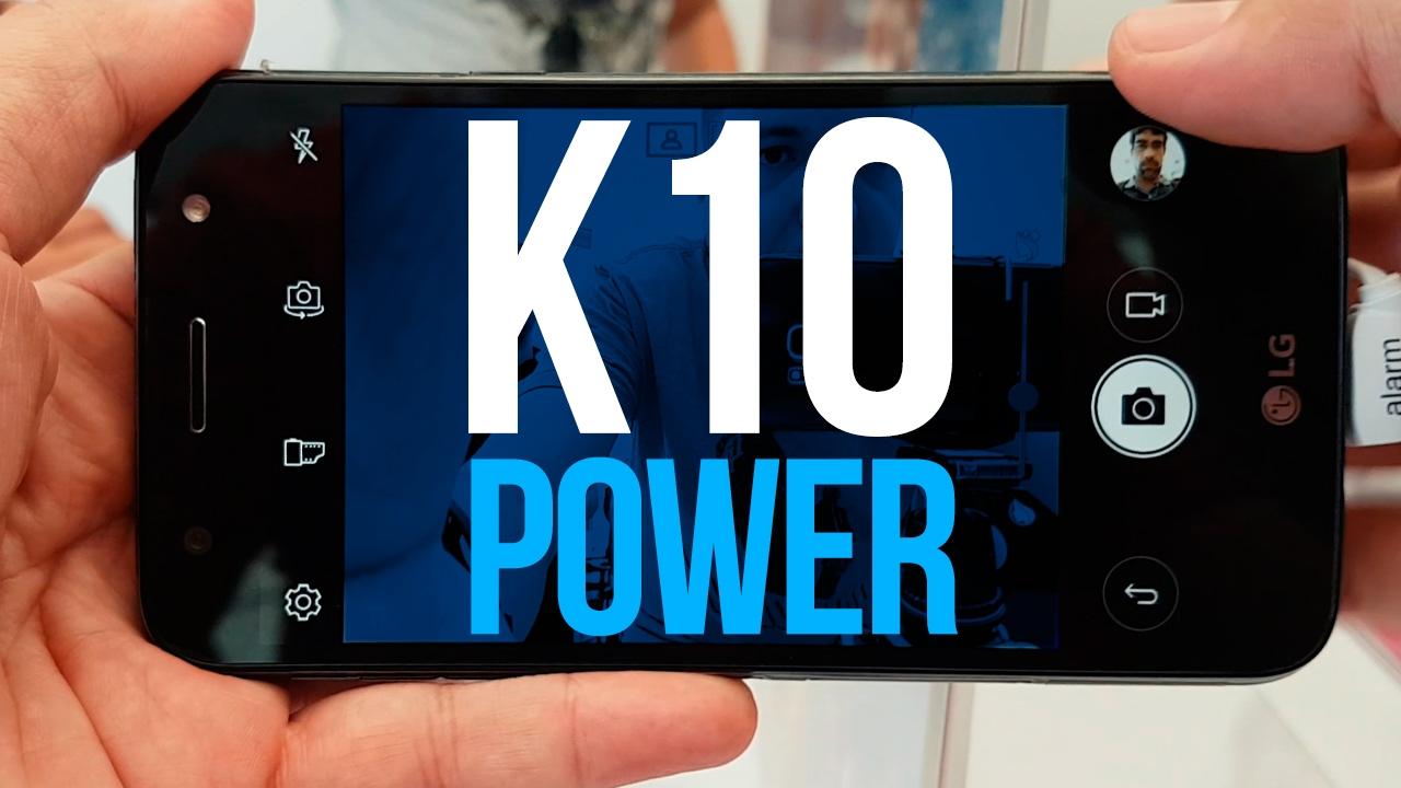 LG K10 POWER com Selfie de 120º e TV Digital   Hands-on - YouTube 4367aa1484