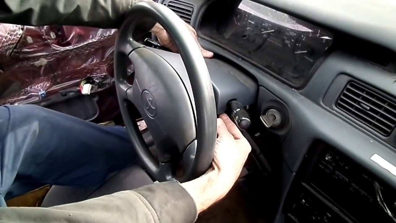 Toyota Camry Multifunction Switch Removal Youtube How To Install A Brake Controller In Aurion Using Seatheater