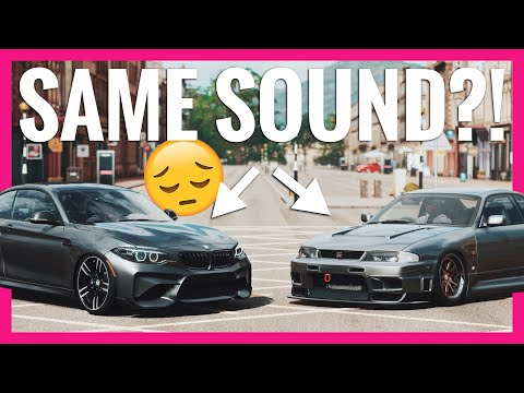 This is terrible , the lack of proper and inaccurate car sounds