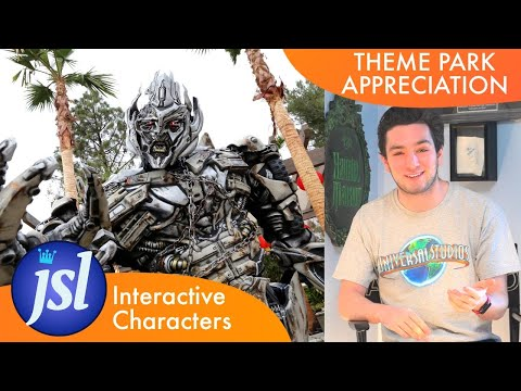 Interactive Characters   THEME PARK APPRECIATION
