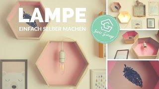 Lampe selber machen - DIY - Kinderzimmer Deko - Kidsroom -  Anleitung
