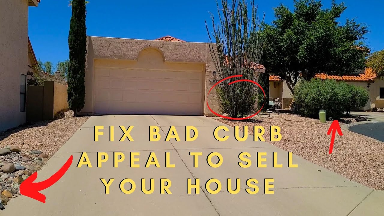 How To Sell Your Home for Top Dollar by Increasing Curb Appeal in Tucson