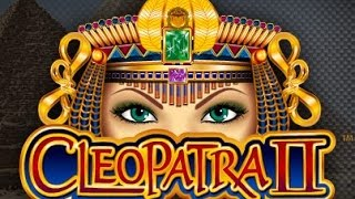Cleopatra II * Biggest Multiplier on You Tube * Huge Win!!!