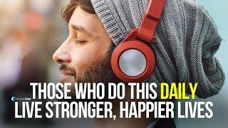 لا الانجراف من خلال الحياة - إنشاء قوي العادات اليومية (مرساة كلمة تحفيزية)