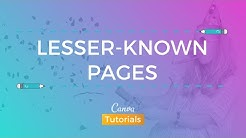 Canva's Icon Library + hidden resources