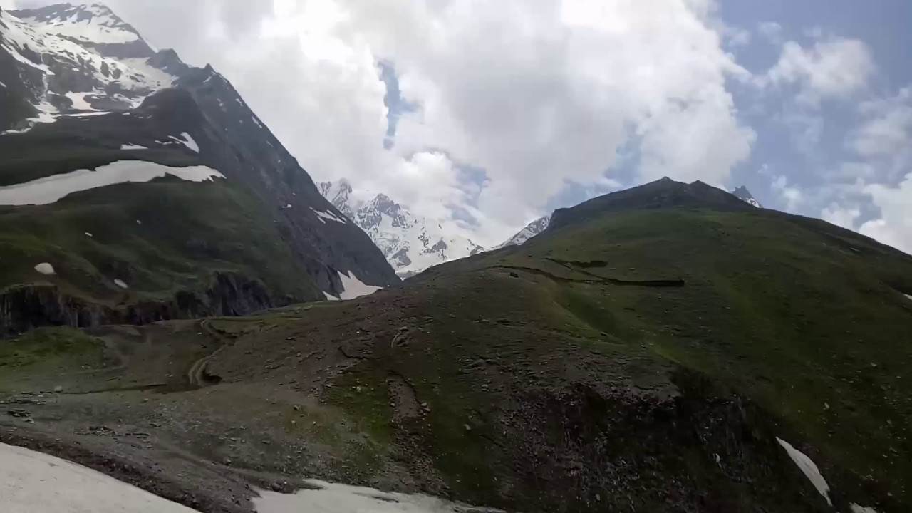 Sonmarg kashmir july weather - YouTube