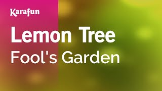 Karaoke Lemon Tree - Fool's Garden *