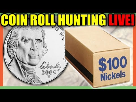 COIN HUNTING FOR VALUABLE COINS!! COINS GO TO VIEWERS!!