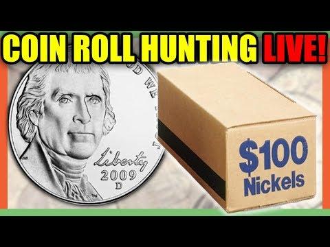 RARE NICKELS FOUND!! 1950 NICKEL KEY DATE, BUFFALO NICKEL AND SILVER NICKELS!!