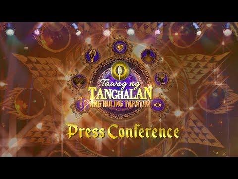 Tawag ng Tanghalan Ang Huling Tapatan Press Conference