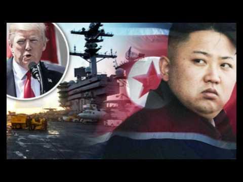 TRUMP: We Are Sending A Very Powerful Armada to North Korea
