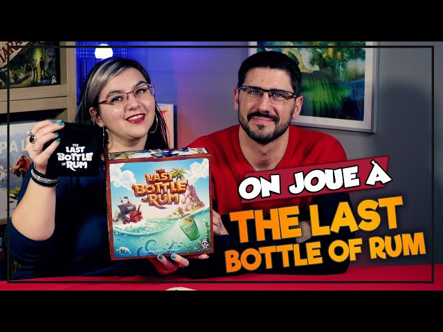 [On joue à] THE LAST BOTTLE OF RUM chez Lord Raccoon Games
