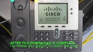 Factory Reset Cisco 7941