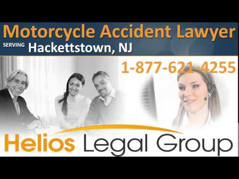 Hackettstown Motorcycle Accident Lawyer & Attorney - New Jersey