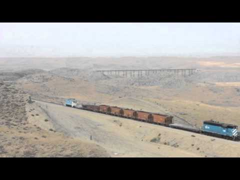 A Photo Freight On The Central Montana