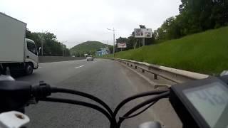 66 км/ч на велосипеде