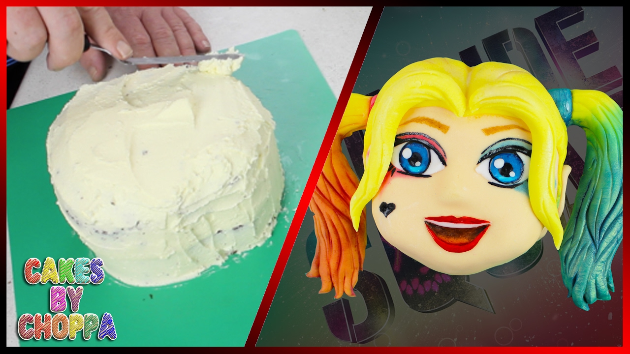 Harley Quinn Suicide Squad Cake How To