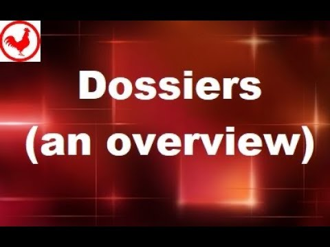 MicroStrategy - Dossiers - Online Training Video By MicroRooster
