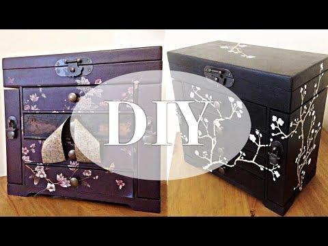 DIY Jewellery Box Refurb + Where I've Been