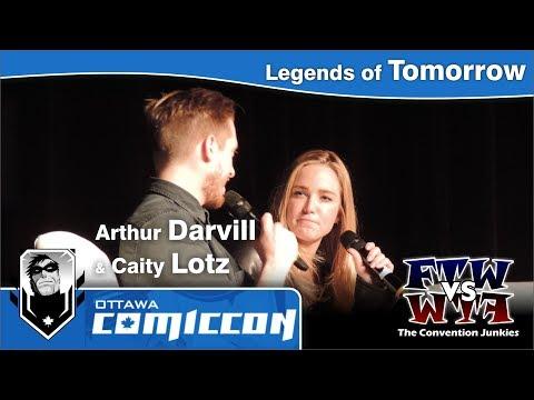 DC's Legends of Tomorrow's Caity Lotz & Arthur Darvill  Ottawa ComicCon