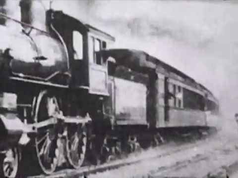 Steam Trains: Thomas Edison Train Films 1897-1906 - CharlieDeanArchives / Archival Footage