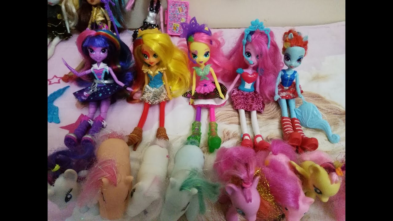 My Little Pony ( twilight sparkle, pinkie pie, apple jack