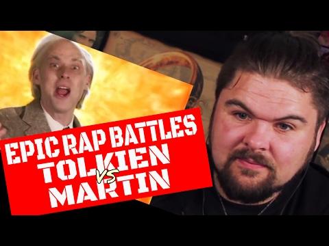 Epic Rap Battles of History JRR Tolkien vs George RR Martin Reaction