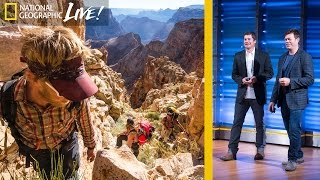 Grand Canyon Adventure  The 800 Mile Hike That Nearly Killed Us (Part 2) | Nat Geo Live