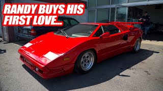 Randy Buys His Dream Car! *THE LAMBORGHINI COUNTACH* The Craziest Supercar Ever Made