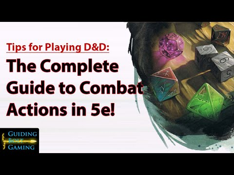A Complete Guide to Combat Actions in D&D 5e