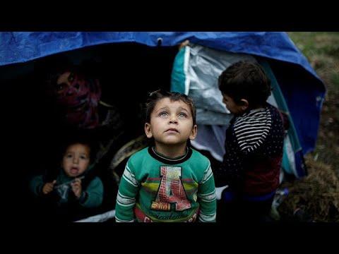 euronews (en français): Grèce : le camp de Moria, une