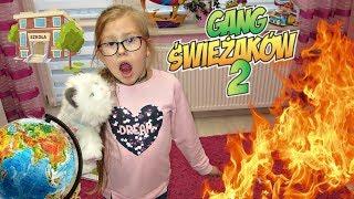 POŻAR W KLASIE - NOWA SZKOŁA #10 - LEKCJA GEOGRAFII i GANG ŚWIEŻAKÓW 2 Bajki dla dzieci po polsku
