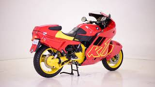 1991 BMW K1 RED YELLOW USED