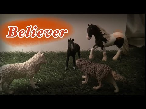 Believer Schleich horse music video