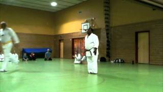 Taikyoku shodan- Beginner's kata at my dojos in Norway