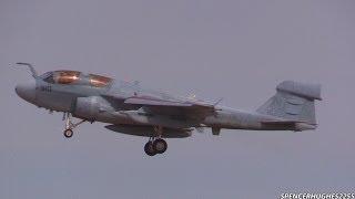 "Grumman EA-6B Prowler ""Touch & Go"" action"