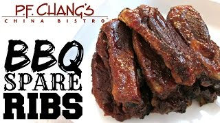 Barbecue Spare Ribs - P.F. Chang's Barbecue Sauce - PoorMansGourmet