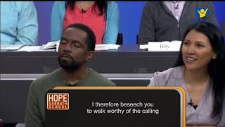 Hope Sabbath School: Lesson 7 - When Conflicts Arise (4th quarter 2018)