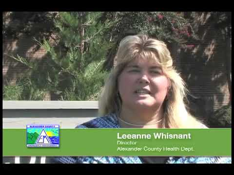 Emergency Preparedness - Leeanne Whisnant - Director - Alexander County Health Dept.