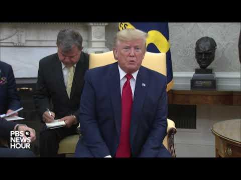 WATCH: Trump meets